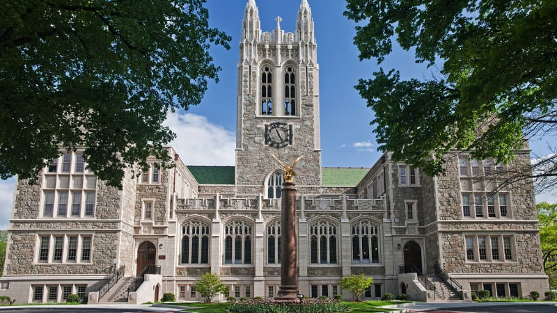 Boston College Chestnut Hill MA