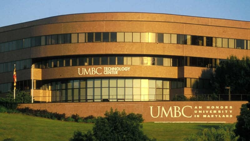 University of Maryland Baltimore County Baltimore MD